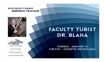 UA Faculty Tubist: Dr. Christopher Blaha