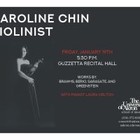 UA Guest Violinist: Caroline Chin