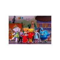 DANIEL TIGERS NEIGHBORHOOD LIVE: KING FOR A DAY!