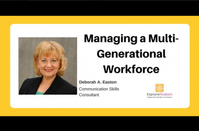 Entrepreneurship Series: Managing a Multi-generational Workforce