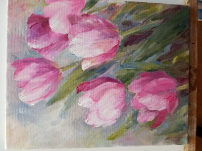 Tulips (oils) with Patty Stouffer