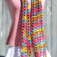 Windowpane Scarf - Crochet Class