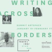 Opening night! Traveling Stanzas: Writing Across Borders