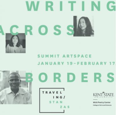 Opening night! Traveling Stanzas: Writing Across Borders