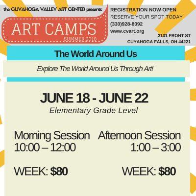 KIDS SUMMER ART CAMP: The World Around Us - Aftern...