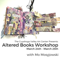 ALTERED BOOKS with Mo Mosyjowski