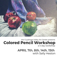 COLORED PENCIL WORKSHOP with Sally Heston