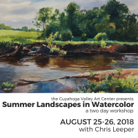SUMMER LANDSCAPES IN WATERCOLOR with Chris Leeper