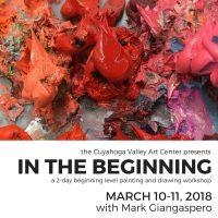 Beginning Level Painting & Drawing Workshop w/ Mark Giangaspero
