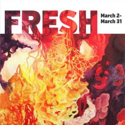 Artist Panel for FRESH 2018 Juried Art Exhibition