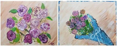 A Dozen Roses- Valentine's Day Special!! Sip and Paint