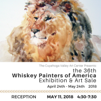 Whiskey Painters Exhibition RECEPTION