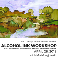CVAC Alcohol Ink Workshop: Abstract Landscapes