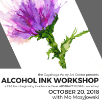 CVAC Alcohol Ink Workshop: Abstract Floral