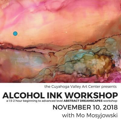 CVAC Alcohol Ink Workshop: Abstract Dreamscape