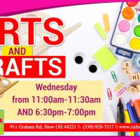 ARTS & CRAFTS at Cafe O'Play