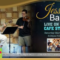 JESSIE BARR LIVE ON THE CAFE STAGE