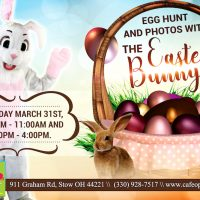 EGG HUNT and PHOTOS WITH THE EASTER BUNNY