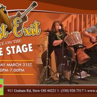 LAST EXIT LIVE ON THE CAFE STAGE