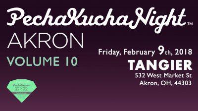 PechaKucha Akron, Volume 10