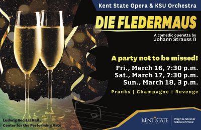 """KSU Opera and Orchestra present """"Die Fledermaus"""""""