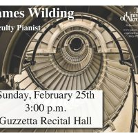 UA Faculty Pianist James Wilding