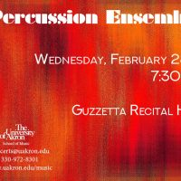 UA Percussion Ensemble