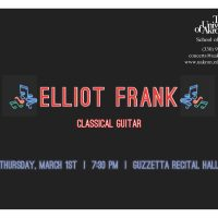 Classical Guitarist Elliot Frank
