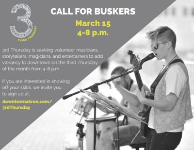 3rd Thursday Buskers