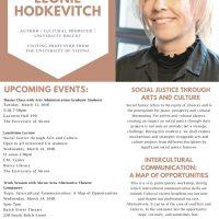 Guest Lecturer Leonie Hodkevitch