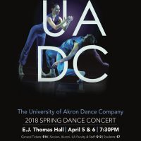 The University of Akron Dance Program presents UADC Spring 2018