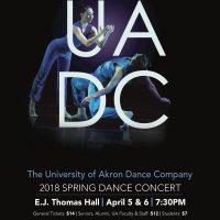 The University of Akron Dance Program presents UADC Spring 2018