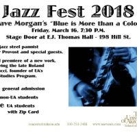 "Jazz Fest 2018 (Friday) ""Blue is More than a Color"""