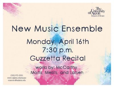 UA New Music Ensemble