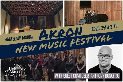 18th Annual Akron New Music Festival