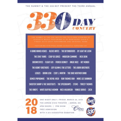 330 Day Concert presented by Akron Civic Theatre The