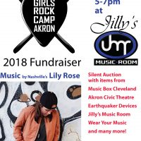 Girls Rock Camp Akron Fundraiser featuring Lily Rose