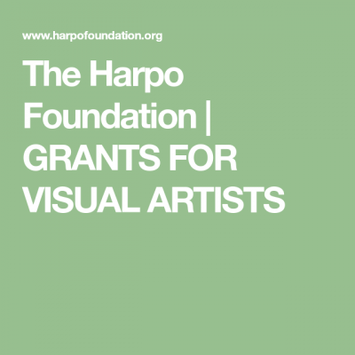 New Work Project Grants - The Harpo Foundation
