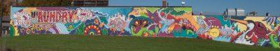 Downtown Laundromat Mural