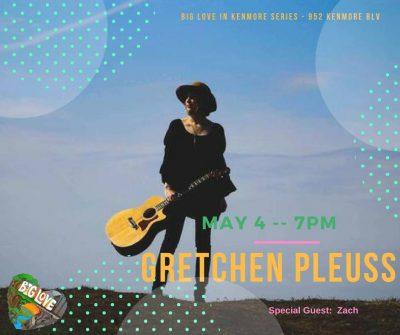 Gretchen Pleuss at Live Music Now