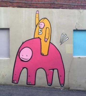 Chill Ice Cream Shop Mural