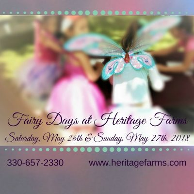 Fairy Days at Heritage Farms