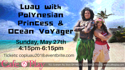 Luau with Polynesian Princess and Ocean Voyager