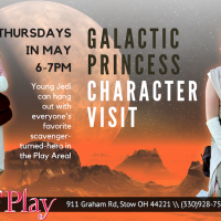 Character Visit with Galactic Heroine