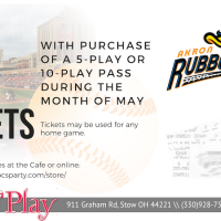 5 PLAY / 10 PLAY PASS SPECIAL.