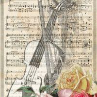 Tween Scene: Sheet Music Doodles