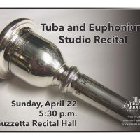 UA Tuba and Euphonium Studio Recital