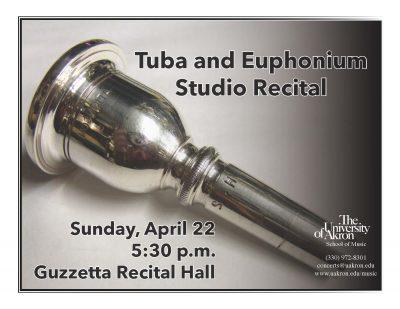 UA Tuba and Euphonium Studio Recital