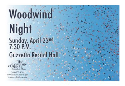 UA Woodwind Night