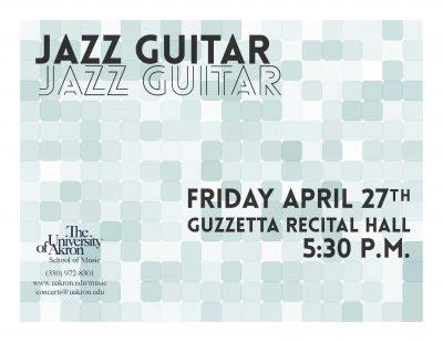 Jazz Guitar Recital